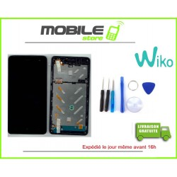 VITRE TACTILE + LCD + CHASSIS ORIGINAL WIKO JERY 2