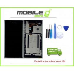 VITRE TACTILE + LCD + CHASSIS POUR SONY L1 G3311 G3312 G3313 COULEUR NOIR
