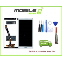 Vitre Tactile + Ecran LCD Pour Huawei Psmart Blanc + Outils + Colle