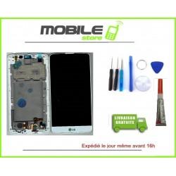 Vitre Tactile + Ecran LCD + Chassis pour LG L BELLO et D331 BLANC + outils