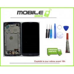 Vitre Tactile + Ecran LCD + Chassis pour LG L BELLO et D331 Noir + outils