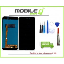 Vitre Tactile + Ecran LCD pour SFR ALTICE S70 Noir + Outils + colle