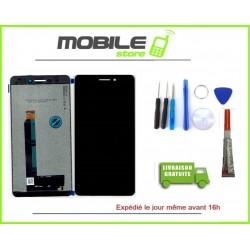 Vitre Tactile + Ecran LCD Pour NOKIA 6.1 Noir + outils + colle B7000