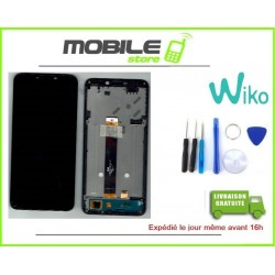 Vitre Tactile + Ecran LCD + Chassis Original WIKO Harry 2 + Outils