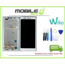 Vitre Tactile + Ecran LCD + Chassis Originale Pour Wiko Jerry 3 Blanc + Outils