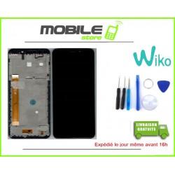 Vitre Tactile + Ecran Lcd + Chassis Original Wiko View go Noir + Outils