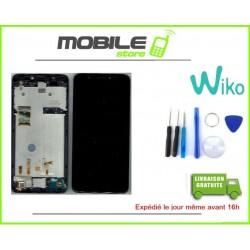 Vitre Tactile + ecran LCD + Chassis Original Pour Wiko Y50 Noir + Outils