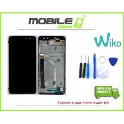 Vitre tactile + Ecran LCD + Chassis orignal wiko view prime