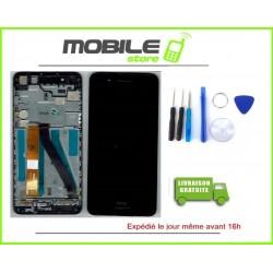 Vitre Tactile + Ecran Lcd + Chassis Pour HTC 728 Couleur noir + Outils