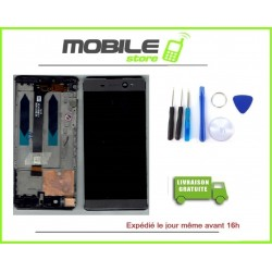 Vitre Tactile + Ecran LCD + Chassis Pour Sony Xperia XA Ultra F3211 F3212 Gris