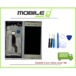 VITRE TACTILE + ECRAN LCD + CHASSIS SONY XA1 GOLD