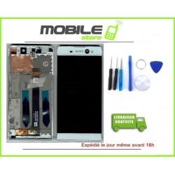 Vitre Tactile + Ecran LCD + chassis Pour Sony Xperia XA Ultra F3211 F3212 Blanc