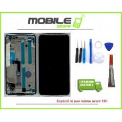 Vitre Tactile + Ecran LCD + Chassis Pour Alcatel Idol 4 OT6055 Chrome + Outils