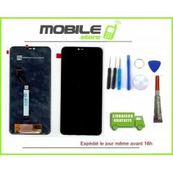 Vitre Tactile + Ecran LCD POUR XIAOMI MI 8 LITE NOIR + outils + colle