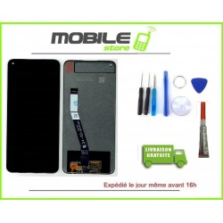 Vitre Tactile + Ecran LCDPOUR XIAOMI REDMI NOTE 9 NOIR + outils + colle