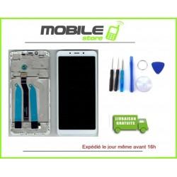 Vitre Tactile + Ecran LCD + Chassis Pour Xiaomi Redmi 6a couleur Blanc + Outils